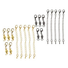 10pcs 6mm Ball Magnetic Clasps Hook Claw Chain Lobster Jewelry Findings DIY