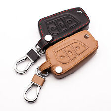 3 button leather car key bag for Toyota Camry Prado Highlander Corolla REIZ