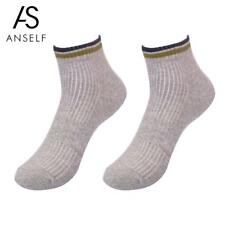 Anself Happy socks Short Pure Color Sports Socks Simple Fine Quality Middle