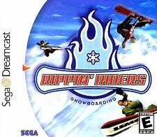 Rippin' Riders Snowboarding Sega Dreamcast Game Disc Only 100% Guaranteed