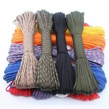 Stand Parachute Paracord Cord Rope Survival Kit 550 Rope 100ft 50ft Line Rope