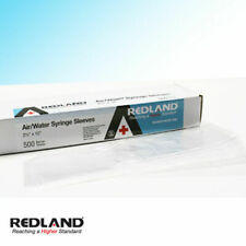 "REDLAND Air/Water Syringe Sleeves Disposable 2.5""X10"" 500/Box -FDA"
