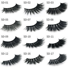 1pair 3D Magnetic False Eyelashes No Glue Handmade Natural Extension Eye Lashes