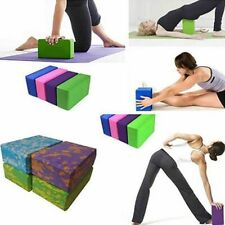 Exercise Fitness Block Foam Stretching Aid Gym Pilates Sport Training Yoga Pads