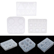 Resin Casting Silicone Mold Clear for Jewelry Making Moulds Tool DIY Craft
