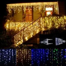 LED Droop 0.4-0.6m Curtain Icicle String Lights Christmas Outdoor Decoration