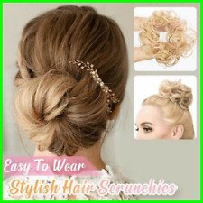 Messy Rose Bun Easy-To-Wear Stylish Hair Scrunchies FREE SHIPPING