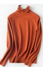 Fashion Blouse Solid Turtleneck sweater T-shirt Long Sleeve Women's Tops Sweater
