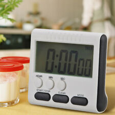 Fashion Large LCD Digital Kitchen Timer Count-Down Up Clock Loud Alarm