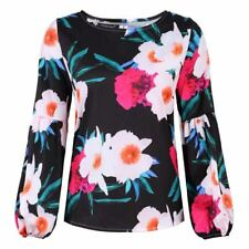 Shirt Pullover T-Shirt Casual Long Sleeve Womens Top Ladies Loose Crew Neck