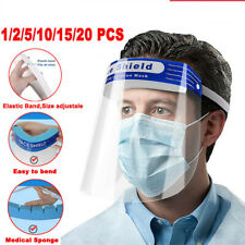 Safety Anti-fog Full Face Shield With Clear Transparent Work Industry Dental Lab