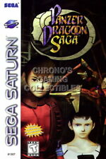 123427 Panzer Dragoon Saga Sega Saturn Decor LAMINATED POSTER AU