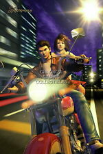 122319 Shenmue Ryo and Nozomi Sega DreamCast Decor LAMINATED POSTER UK