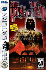 123436 The House of the Dead Sega Saturn Decor LAMINATED POSTER CA