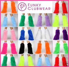 FLUFFIES FLUFFY BOOTS FURRY BOOTCOVERS CYBER LEGWARMERS
