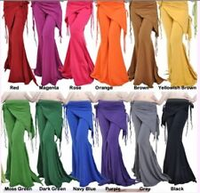 Belly Dance Costume Tribal Cotton Yoga Pants 13 colours