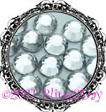 SS10 & SS6 CLEAR HOT FIX RHINESTONE CRYSTAL LOOSE BLING
