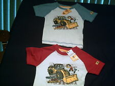 TODDLER CAT CATERPILLAR SHIRT NWT FRONT END LOADER