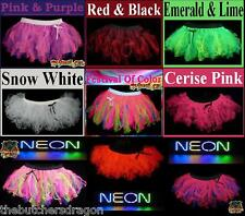 Cyber Tutu Neon Fancy Dress Hen Party Girls Night Out