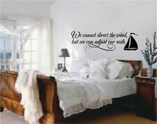 Cant Direct The Wind Vinyl Wall Decal Words Stickers