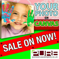Photo On Canvas YOUR IMAGE on Box Canvas