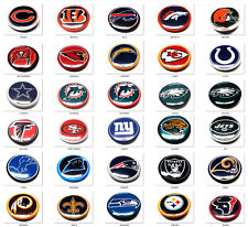 30 NEW NFL FOOTBALL GUMBALL PINS BUTTON HAT 2 PIECES