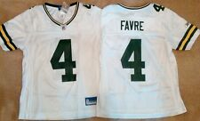 Brett Favre Green Bay Packers Womens White Jersey NWT