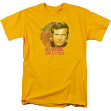 The Six Million Dollar Man Run Faster Adult Shirt S-3XL
