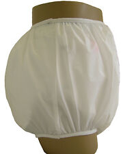 Baby Pants Gerber White plastic pants in Adult Sizes - Extremely Crinkly