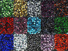 ss16 / 4mm Iron On Hot Fix Rhinestones in Varies Colours and Varies Lots