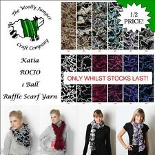 1/2 PRICE - KATIA ROCIO - SCARF YARN  - ONE BALL SCARF - FREE PATTERN