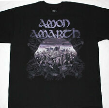 AMON AMARTH  DEATH VIKING METAL OPETH IN FLAMES TURISAS NEW  RARE BLACK T-SHIRT