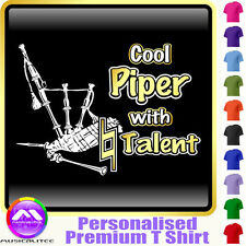 Bagpipe Cool Player With Natural Talent - Music T Shirt 5yrs - 6XL MusicaliTee