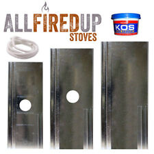 "Chimney Register Closure Plates For Wood Burning Stoves With 5"" and 6"" Flue Pipe"