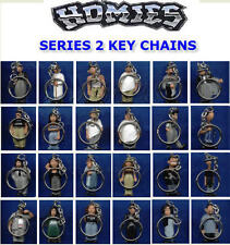 HOMIES SERIES 2 -  KEYCHAINS BACKPACK ZIPPER PULLS -  PICK THE FIGURE YOU WANT