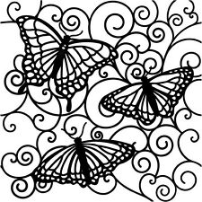"""The Crafters Workshop 6"""" x 6"""" template stencil Scrapbooking Decor Cards Fabric"""