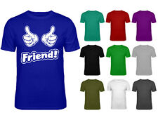 Mens Friend Thumbs Up Inbetweeners Movie Inspired Slogan T-shirt NEW S-XXL