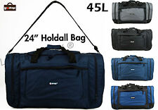 Mens Womens Hi Tec Holdall Hand Luggage Cabin Flight Travel Sports Gym Bag 45L