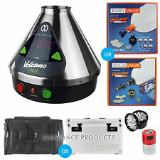 Volcano Digital Vaporizer w/ Easy or Solid Valve + Tightvac Grinder or Vapecase