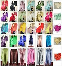 BRAND NEW LUXURIOUS PASHMINA SHAWL WRAP SACRF STOLE -Multiple color choice