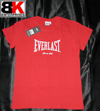 "Everlast T-Shirt Womens Bright Red ""Authentic"" 2012 BNWT"
