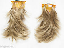 Bangs / Fox Tail Comb Attachment Short Straight Hair Pieces