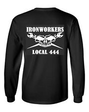 Ironworker Long Sleeve T Shirt.  Customized with your Local.