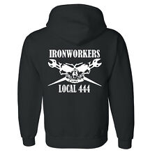Ironworker Hoodie  Customized with your Local.
