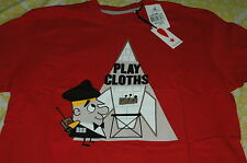 PLAY CLOTHS MISSION CONTROL SHIRT RED supreme diamond crooks castles