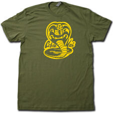 Karate Kid COBRA KAI t-shirt. COOL 80's movie tee Mr. Miagi say WAX ON, WAX OFF!