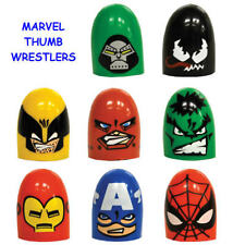 NEW RETIRED MARVEL SPIDERMAN MINI THUMB WRESTLERS CAKE TOPPERS PARTY FAVORS