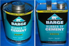 Barge Original Rubber Cement TF 1 Gallon (GL) or 1 Quart (QT) Quabaug Tin Can !!