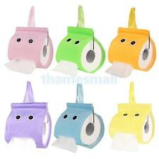 Cute Face Hanging Style Tissue Box Toilet Paper Holder Case Cover Dispenser Gift