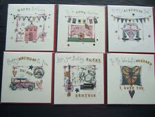 ~~COOL BRITANNIA ~~AGE, RELATIONS and OPEN ~ UNION JACK THEME BIRTHDAY CARDS